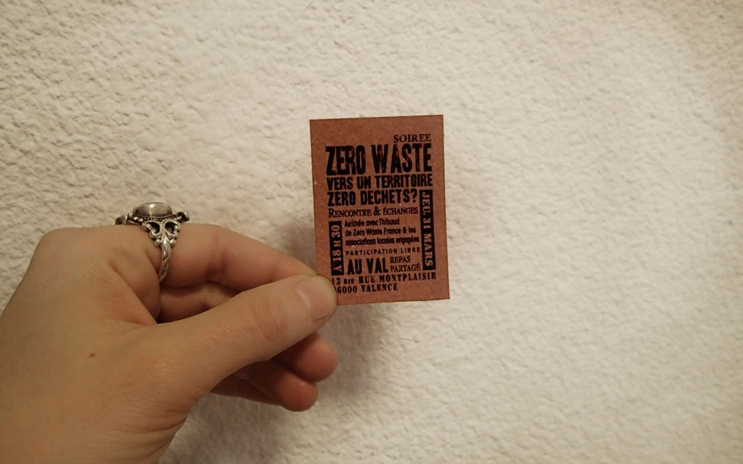 Le flyer le plus petit du monde…  Vers un territoire zéro déchets
