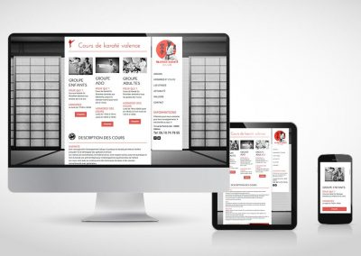 Site web vitrine