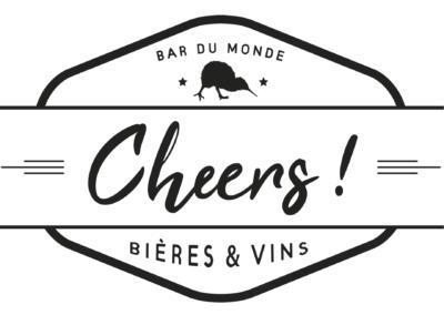 Logo, enseigne, packaging // cheers bar