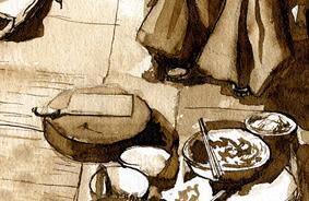 Conte du monde – Brou de noix