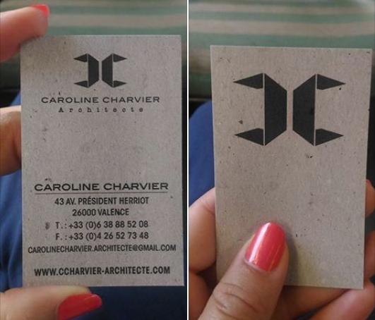 Nouvelle carte Caroline Charvier Architecte