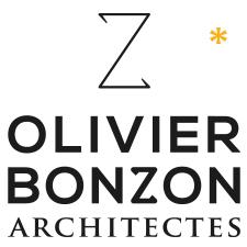 logo, identité, roll'up, plaquette// Olivier Bonzon Architectes