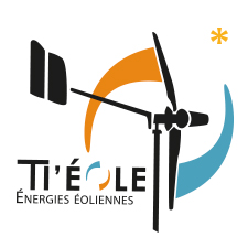 Restructuration logo, plaquette, stand // Ti'eole