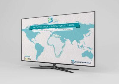 Vidéo promotionelle // Initiative Irrigation Sahel – Projet banque mondial